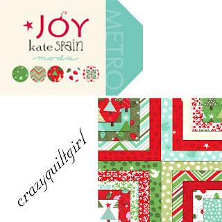 Moda JOY Christmas Quilt Fabric by Kate Spain
