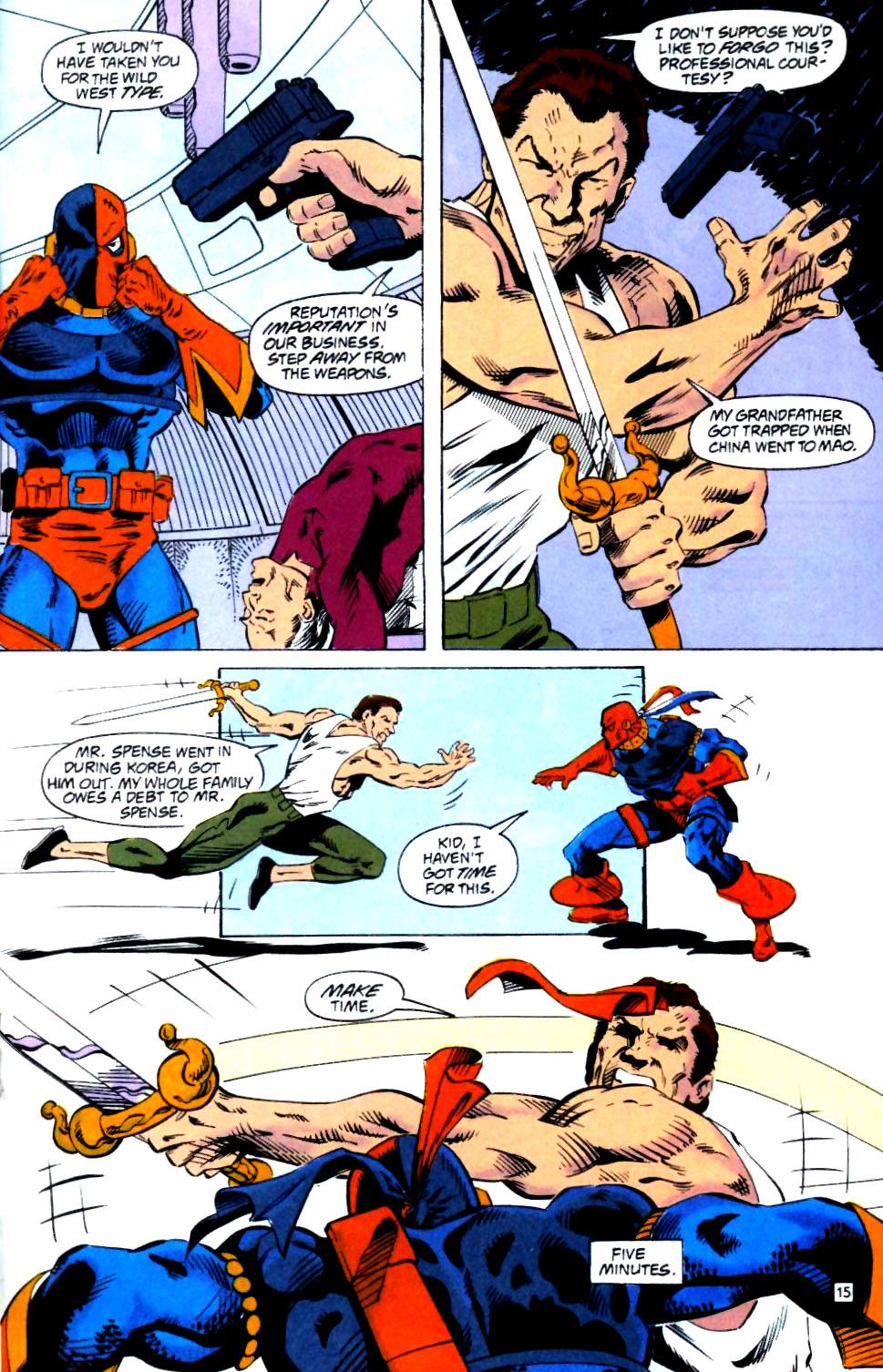 Deathstroke (1991) Issue #25 #30 - English 16