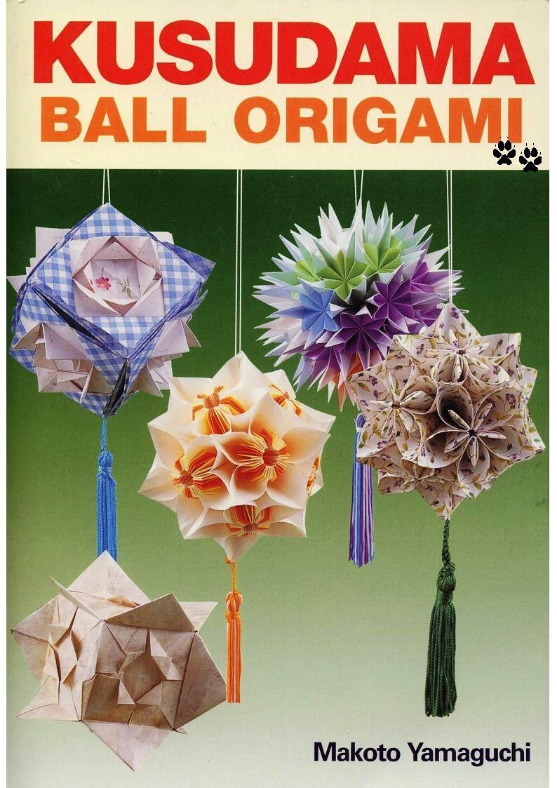 origami ball pdf Duendes y Manualidades: kusudama BALL Estrellitas ORIGAMI KUSUDAMA