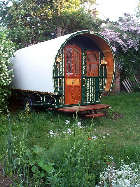Wonderful Modern Gypsy Caravan The Baldwin Gypsy Caravan