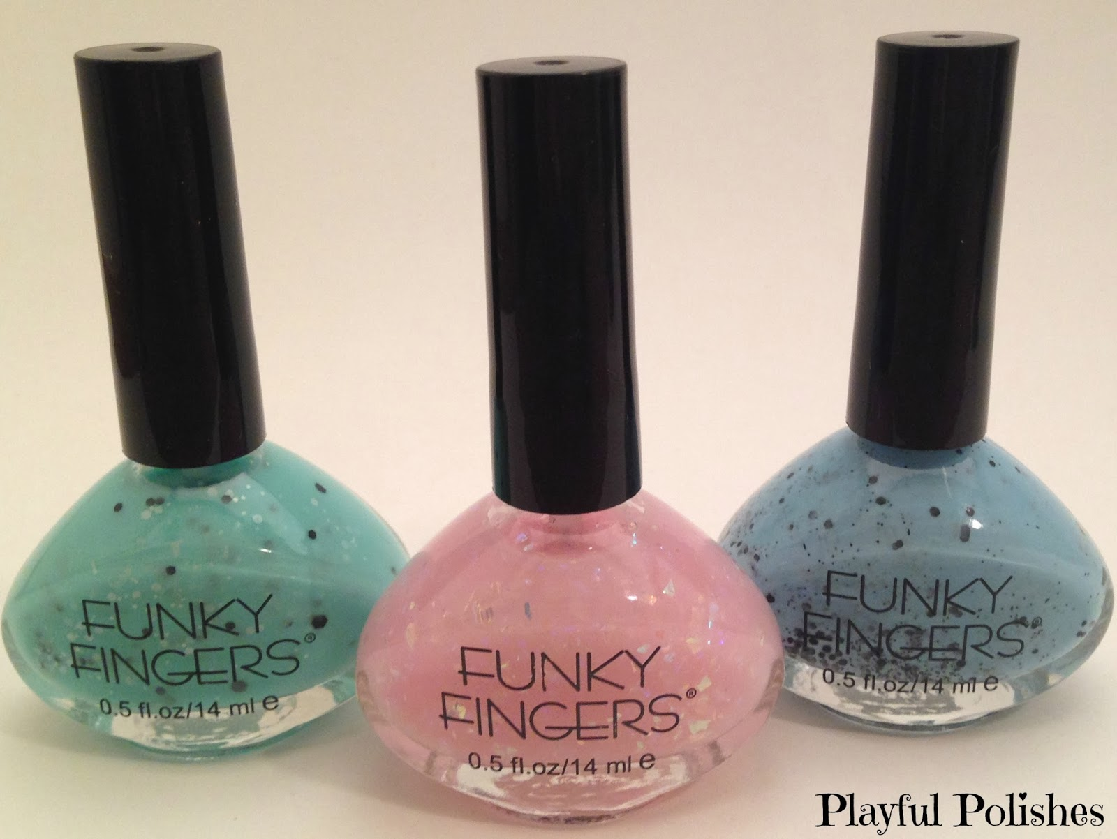 Playful Polishes: FUNKY FINGERS SWATCH & REVIEW