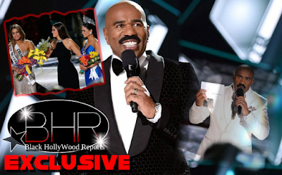 Comedian Steve Harvey Announces The Wrong Winner For The 2015 Miss.Universe Pageant