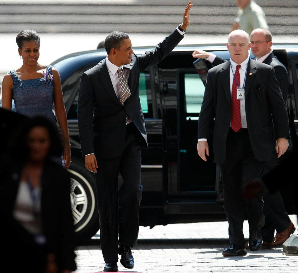 SAIC of PPD Joe Clancy President Obama