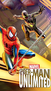 Screenshots of the Spider-man unlimited for Android tablet, phone.