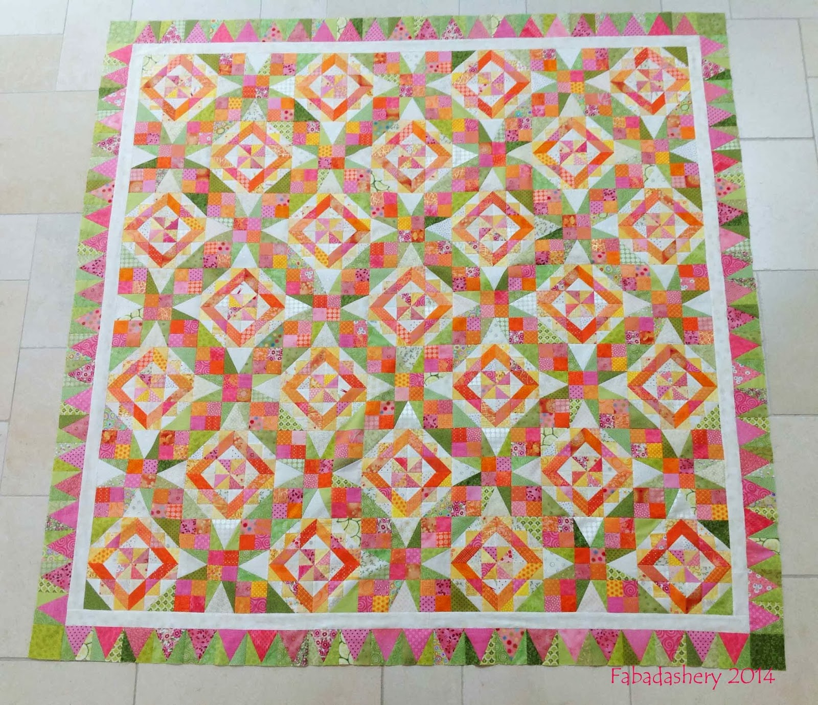 Bonnie Hunter's Celtic Solstice Mystery Quilt 2013