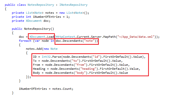 Building Blocks: XML Data Repository for Asp.Net MVC with all CRUD Operations 1