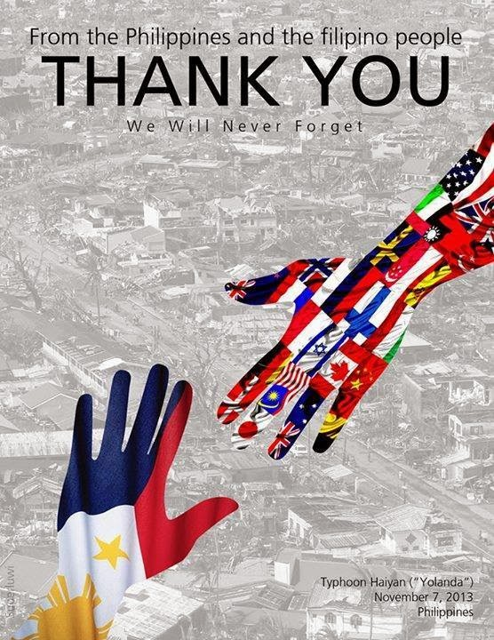 Thank You, from the Filipino people