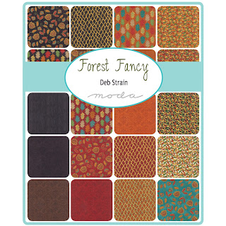Moda FOREST FANCY Fabric by Deb Strain for Moda Fabrics