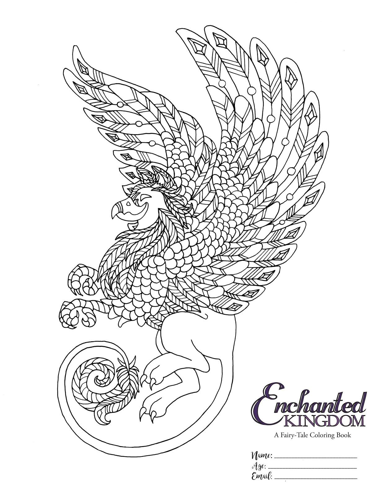 The Flight Reflex: Enchanted Kingdom - Coloring Contest!!