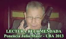 PONENCIA DE JULIO MAIER