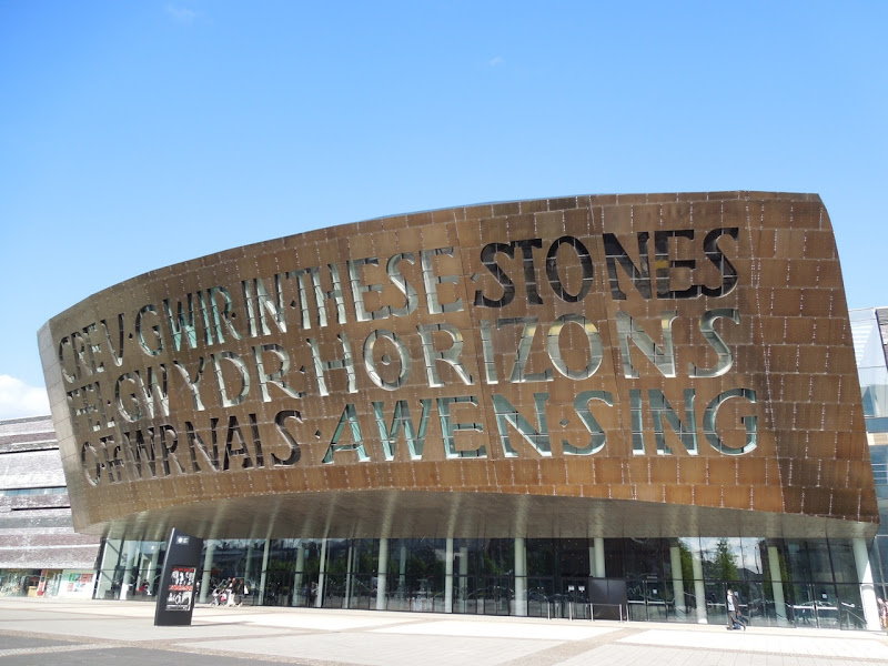 Wales Millennium Centre Cardiff Bay