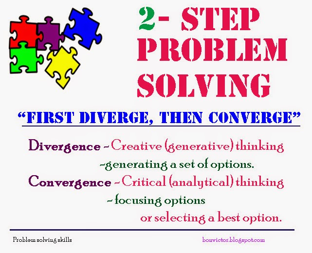 example of problem solving skills