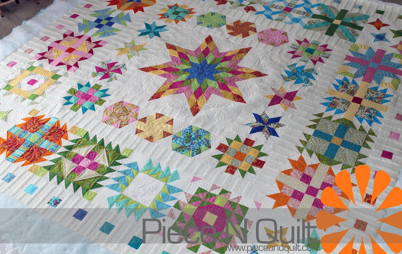 Piece N Quilt: A Sampler Quilt ~ Custom Machine Quilting : the quilt sampler - Adamdwight.com