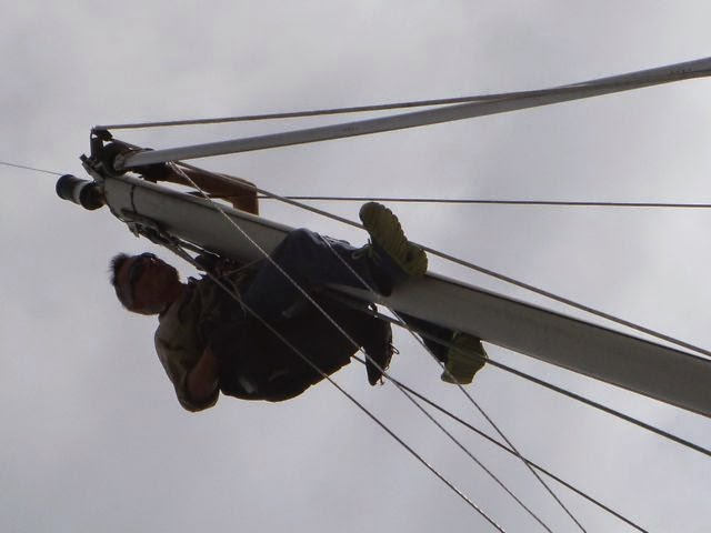 julian sparman mast monkey cruising preparation