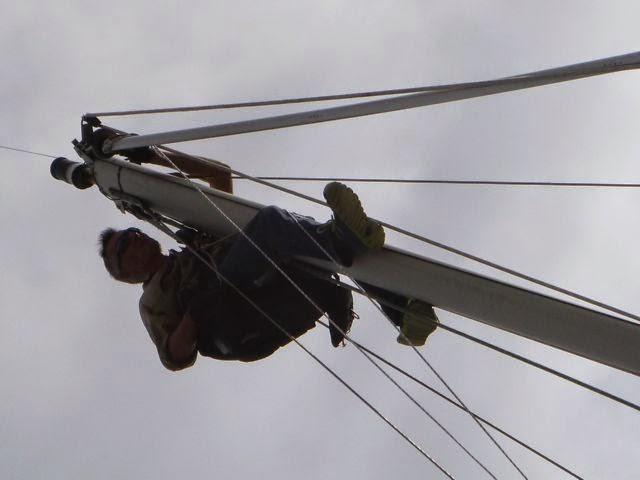 julian sparman mast monkey cruising preparation