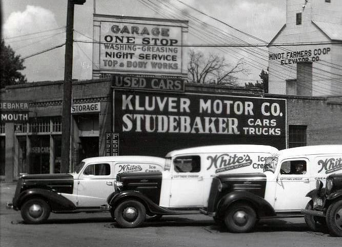 Minot Memories Auto Dealers 90 To 100 Years Ago