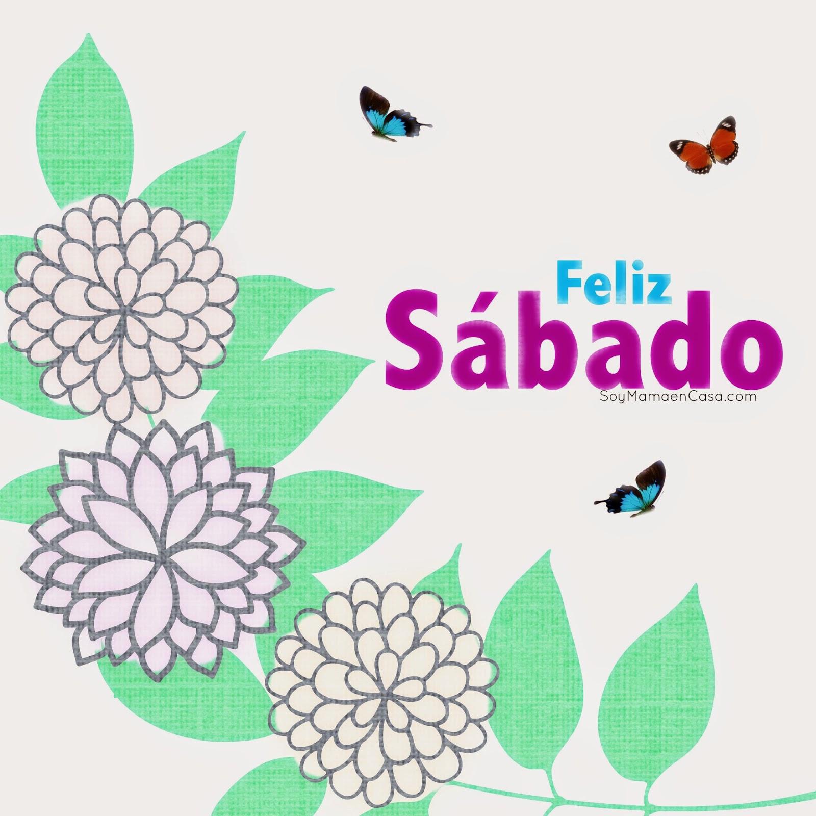 sábado, flores, mariposas