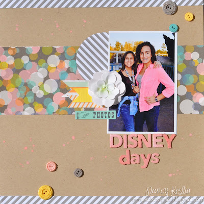disney, scrapbook, nancy keslin_kit club