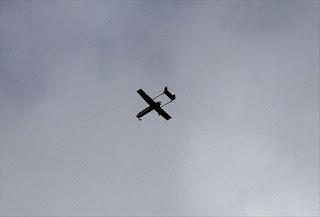Сбитый самолет оказался беспилотником.
