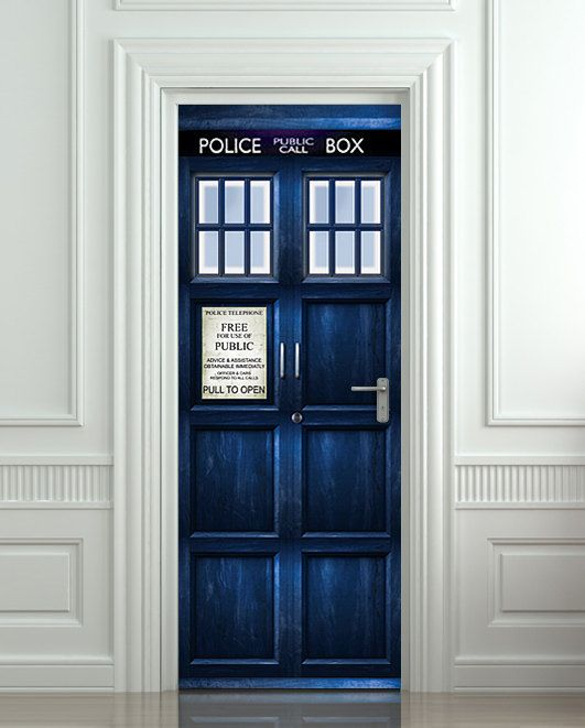 D co chambre doctor who for Decoration maison geek