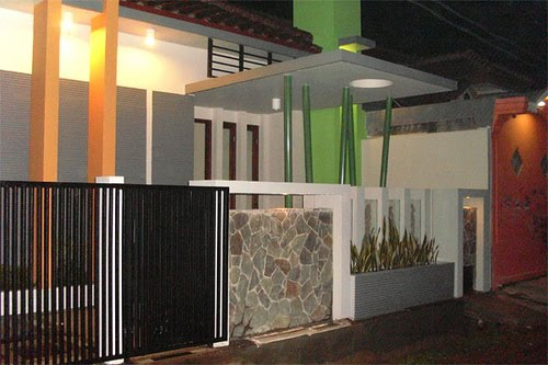 pagar rumah minimalis type 45