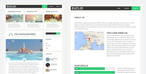 Euclid Free WordPress theme 2014