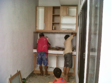 kitchen set  mbak Windy D/A Ciganjur