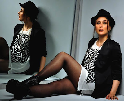 Kareena Kapoor in Sitting Poses in Short Skirts Showing her Milky thighs