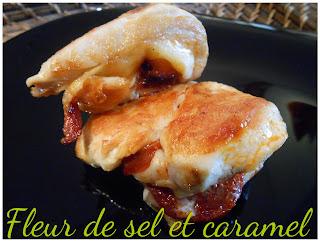 Saltimbocca de poulet au chorizo et gouda