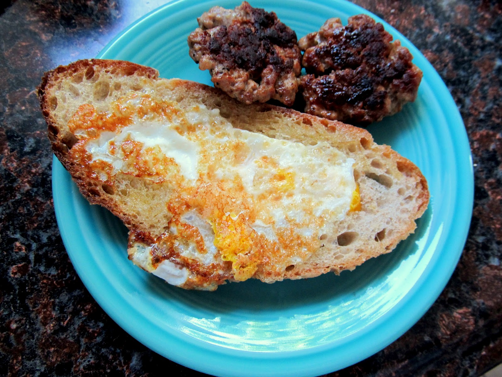 how to make toad in a hole egg