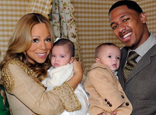 Mariah Carey, Nick Cannon and their twins (ABC News)