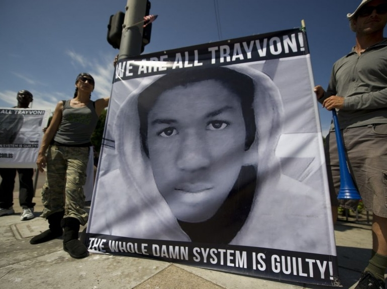 New York Trayvon protest