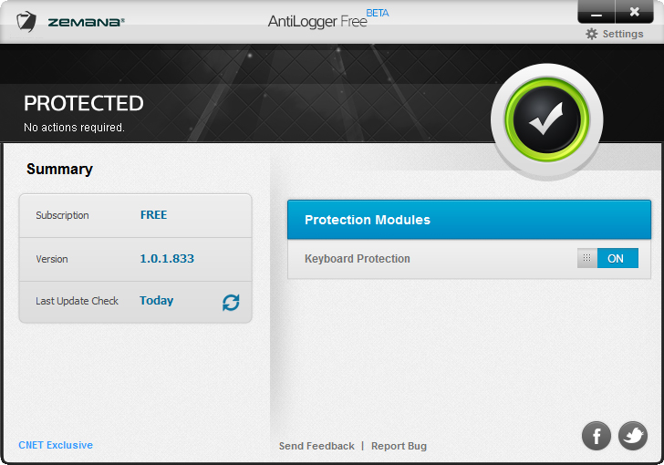 Zemana AntiLogger Free , system protection softwares, security softwares, Anti-Keylogger , keylogger protection , windows softwares,