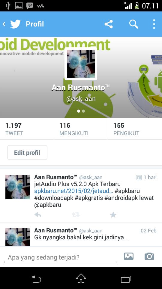 Twitter Android Apk Terbaru
