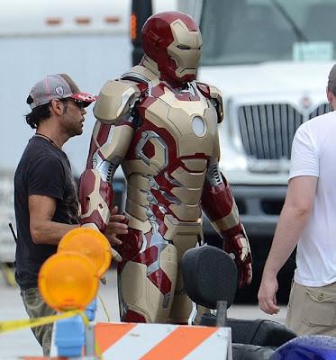 new Iron Man armor, Iron Man 3 armor, Marvel Studios, Capes on Film