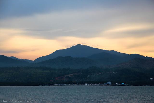 Majestic Sunset Landscape in Palawan