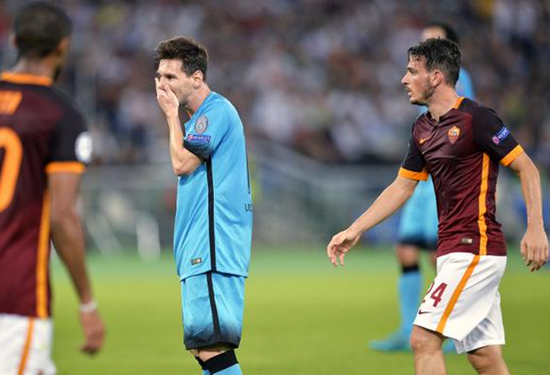 Roma 1 x 1 Barcelona - Grupo E / Champions League 2015/16