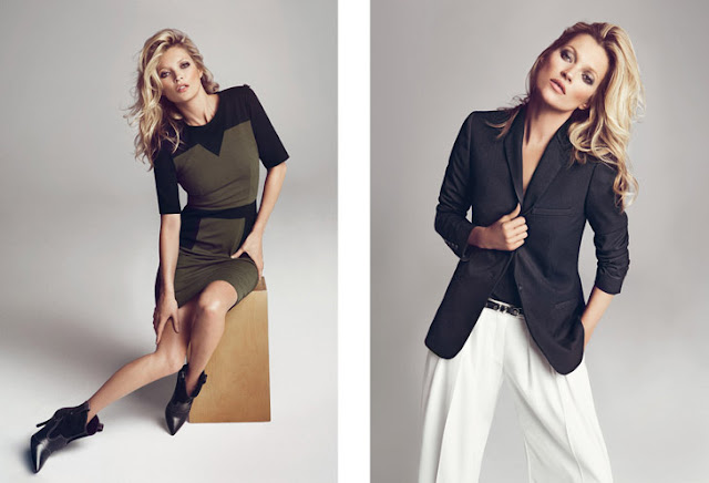Mango Lookbook. Winter 2013 with kate moss