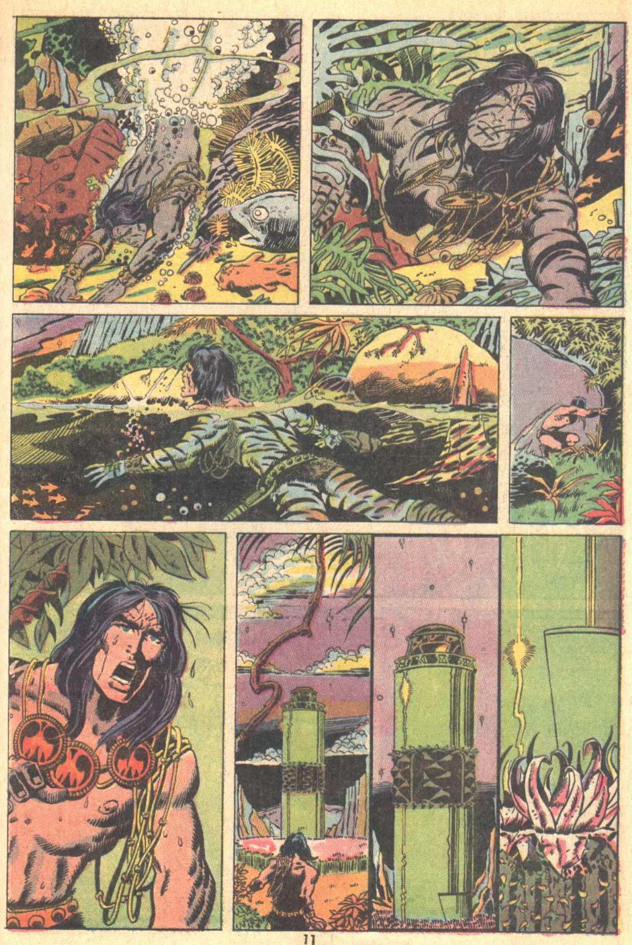 Conan the Barbarian (1970) Issue #9 #21 - English 9
