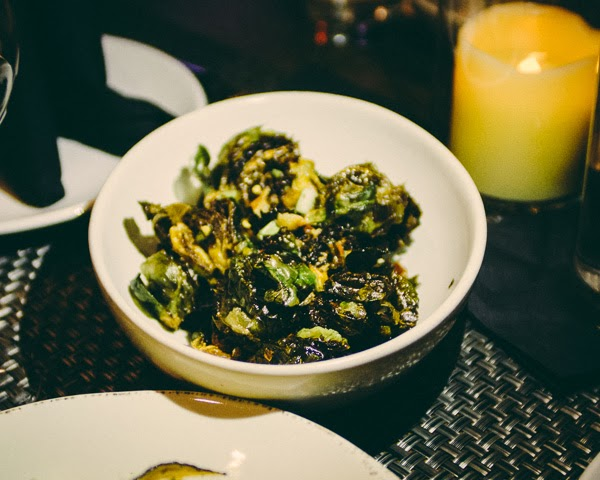 brussel sprouts at Italian restaurant Moto cucina and enoteca in Nashville, Tennessee