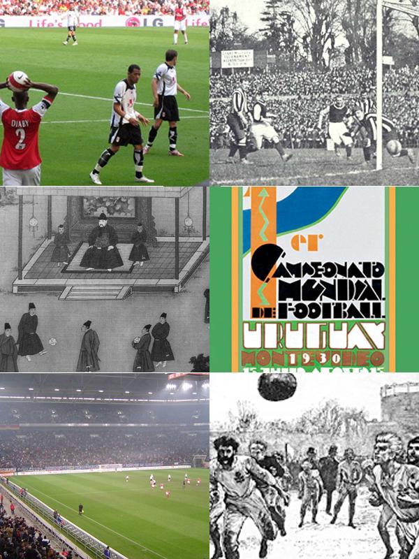 escenas del fútbol en la historia
