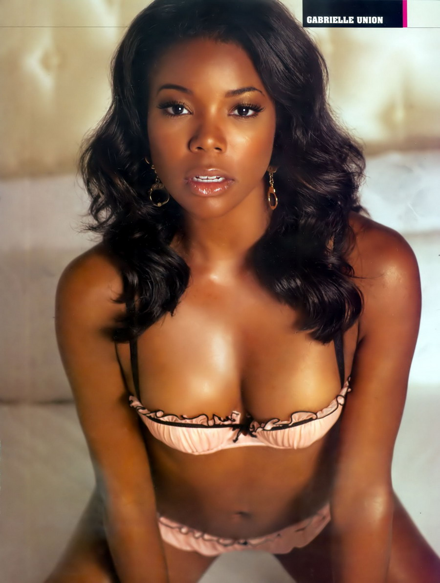 Sexy Hot Black Women  - Gabrielle Union in Lingerie