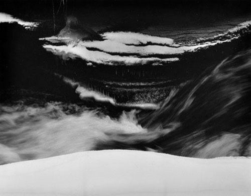 masters of photography : Minor White : photo of waves and clouds