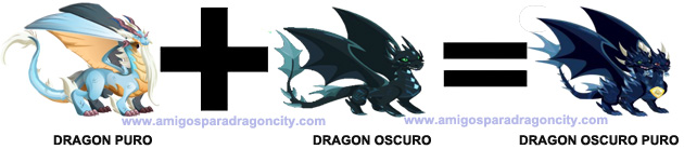 como sacar el dragon oscuro puro en dragon city