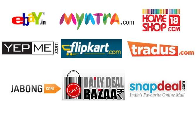 Financial guruji top 5 online shopping websites in india for Best websites for online shopping