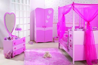 pembe mobilyali bebek odasi takimi modelleri En Güzel Bebek Odası Takımları Ve Resimleri