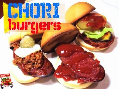 Image of 3 Chori burgers