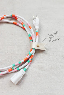 Reciclatex Cómo decorar un cable alargadera