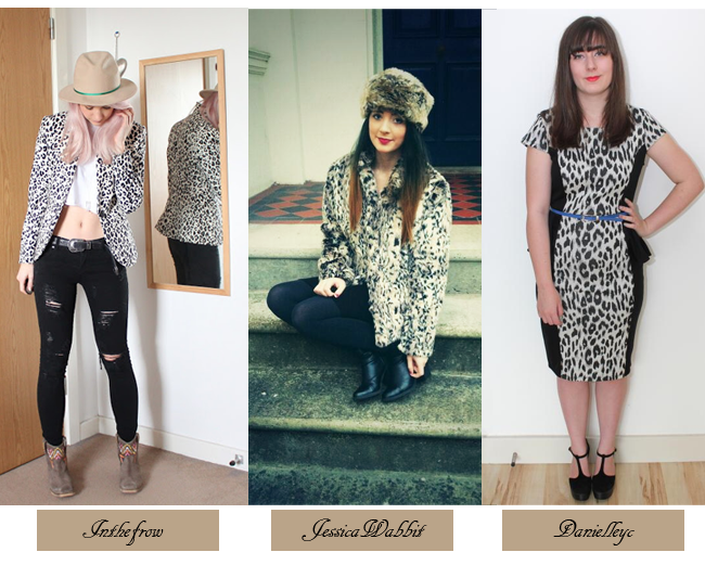 Bloggers in Animal Print, How to style animal print