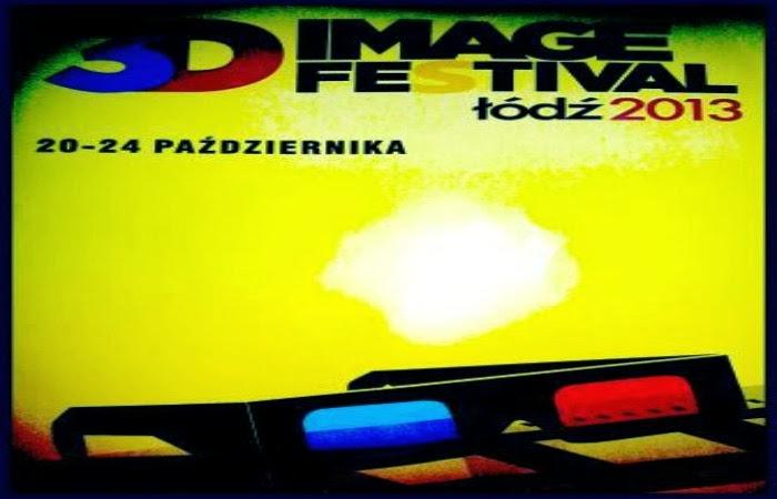 Obraz: plakat promujący Festiwal 3D Image w Łodzi
